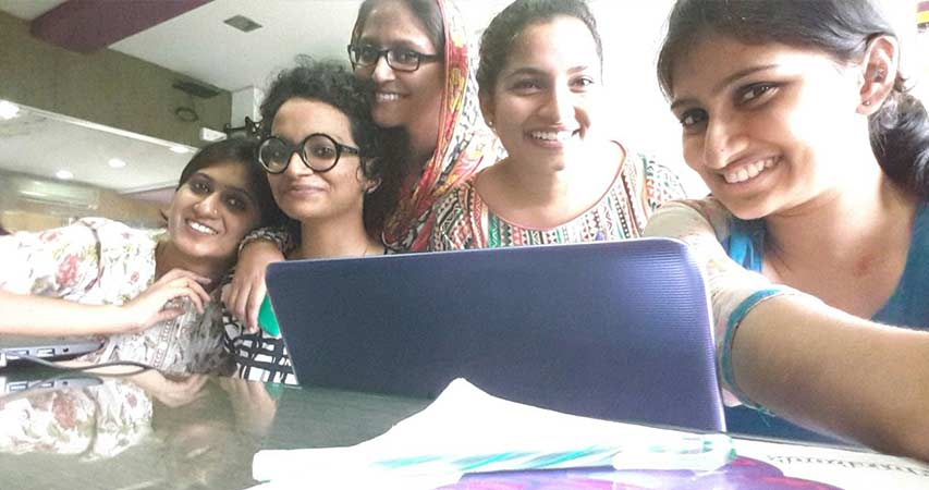 Caren Susan Jose, Bibiya Benny, Deepa S Sebastian, Asmila Ashraf And Sayoojya Satheesh
